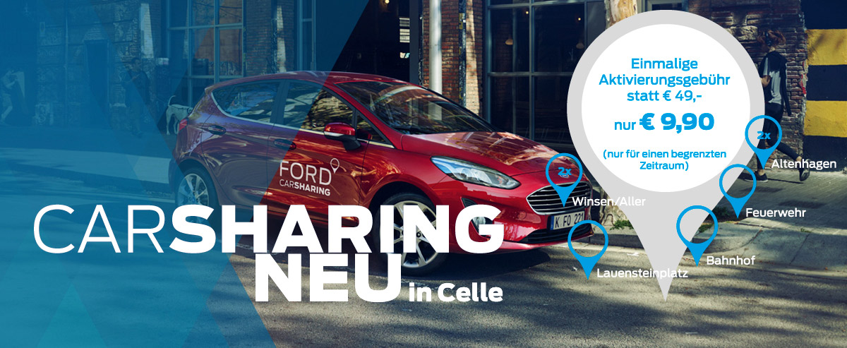 Ford CarSharing Neu Celle